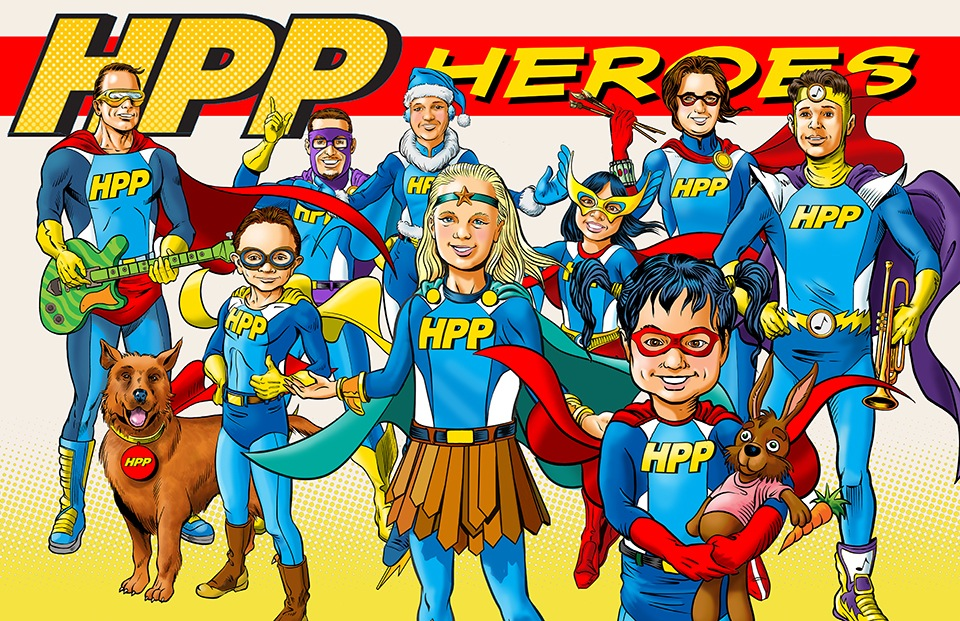 HPP Heroes assembled